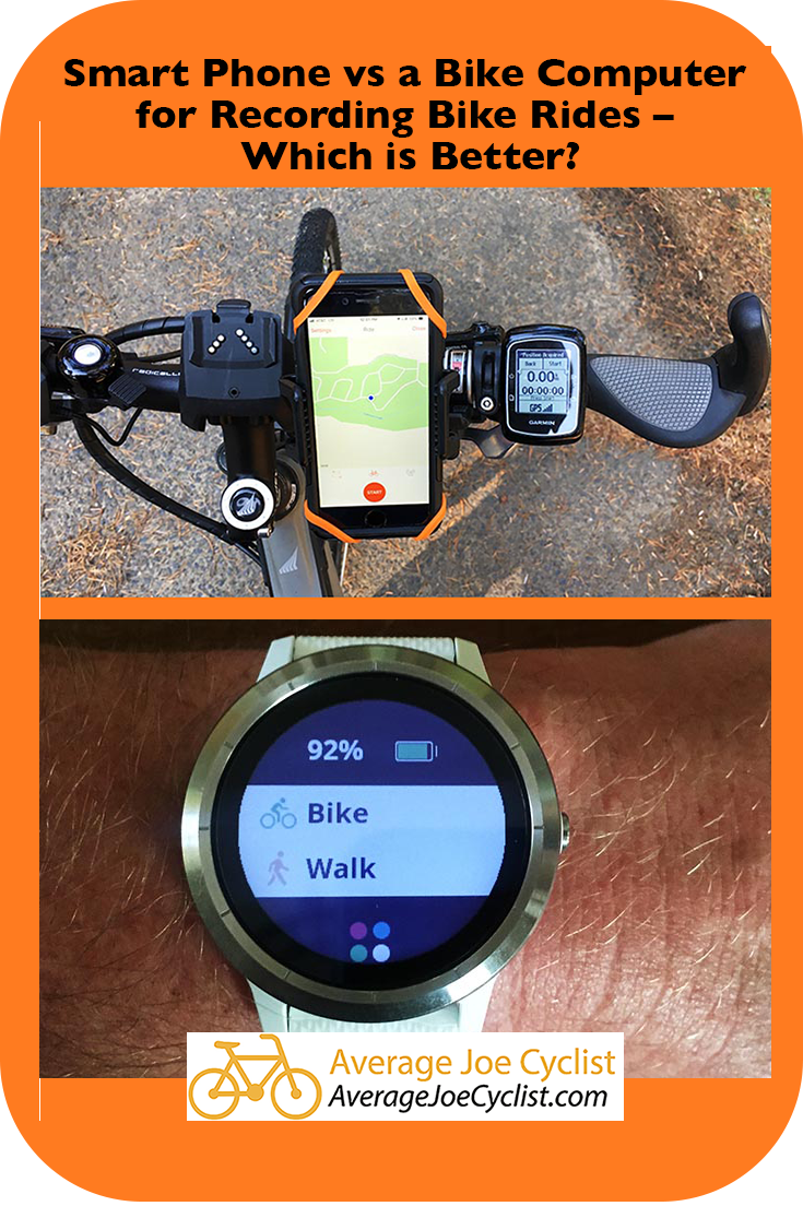Smart Phone Vs A Bike Computer For Recording Bike Rides Which Is