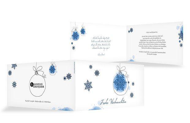 weihnachtskarten weihnachtszauber firma ideen. Black Bedroom Furniture Sets. Home Design Ideas
