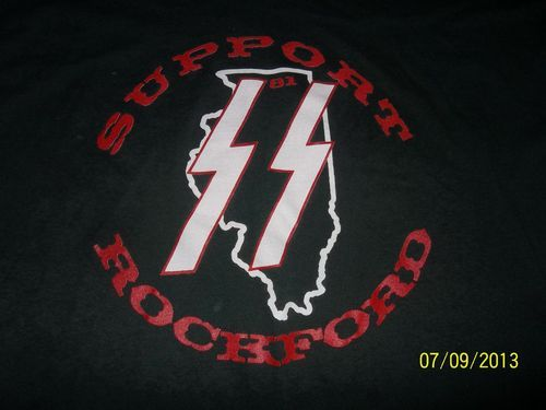 Bad ass Hells Angels Support Rockford SS shirt  | HELLS ANGELS