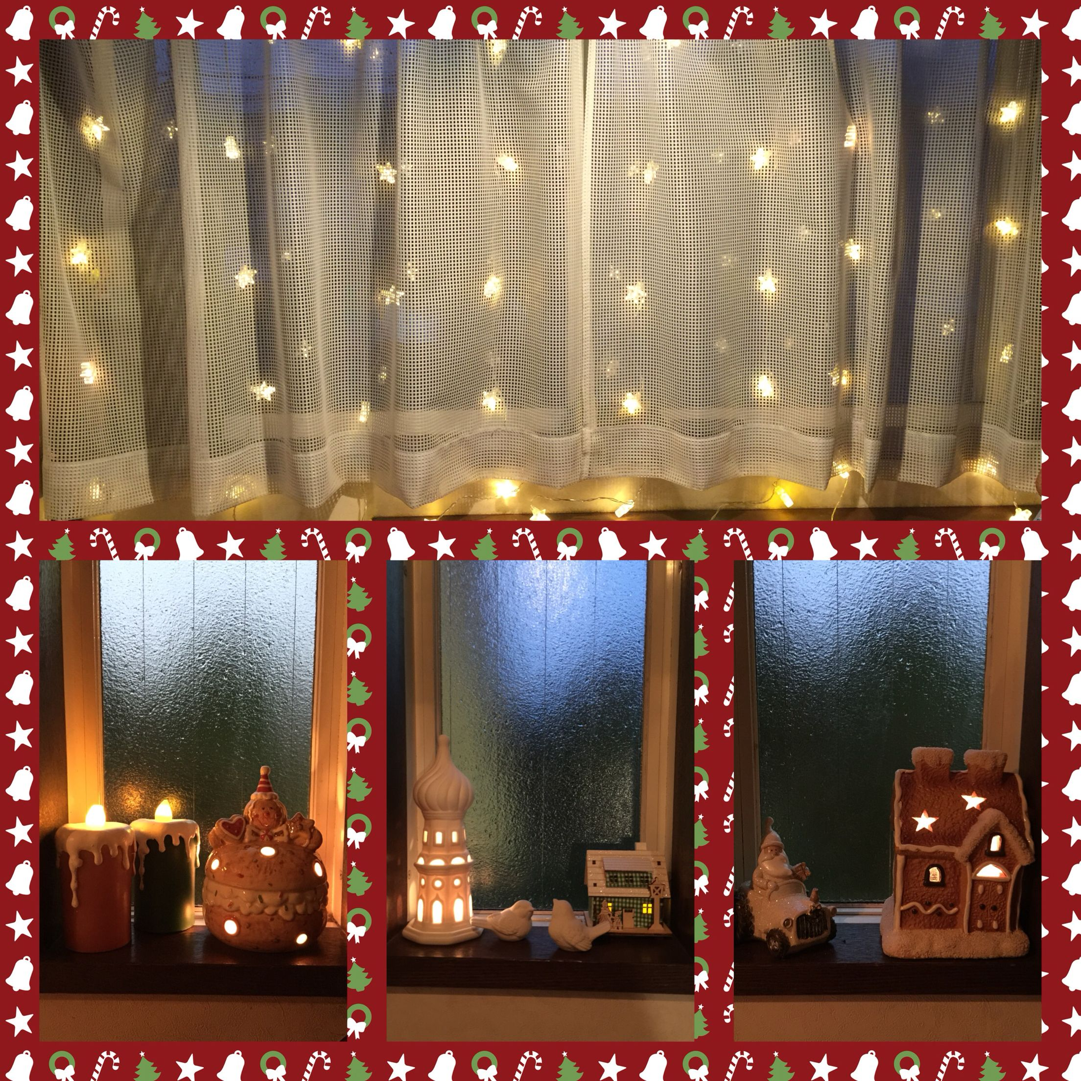 First decors of this year.