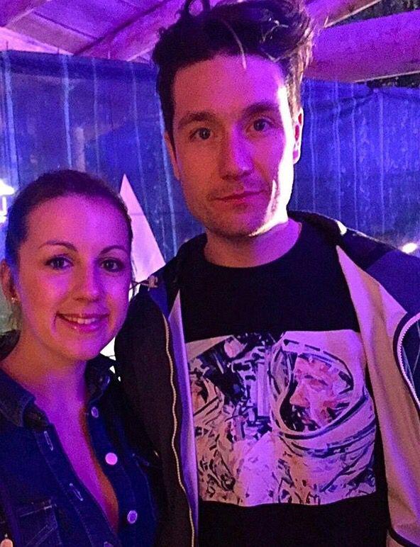 Dan and fan