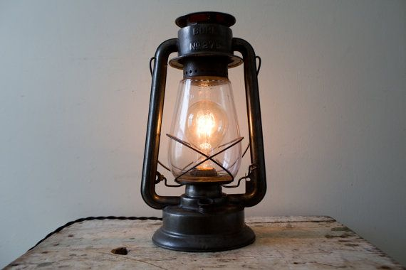 Buhl No 275 Kerosene Lantern Converted Electric By Whiskyginger Vintage Light