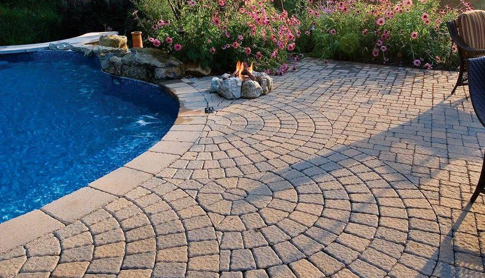 Hardscape U0026 Outdoor Patio, Driveway Or Pool Deck With Paver Stone. Free  Estimate With