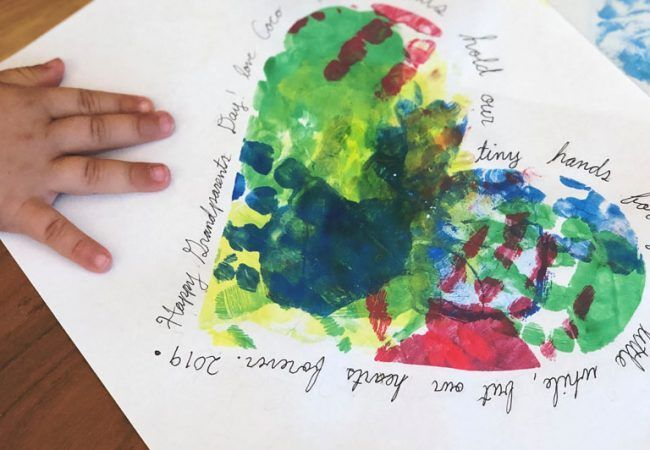 Grandparents Day Craft to Make with Your Child #grandparentsdaycrafts Grandparents Day Craft to Make with Your Child #grandparentsdaycrafts