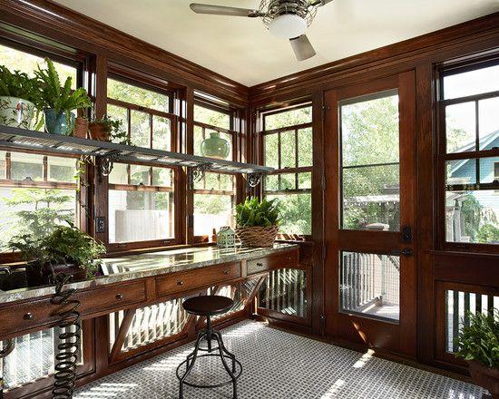 Palo Alto Craftsman - Craftsman - Living Room - San ...