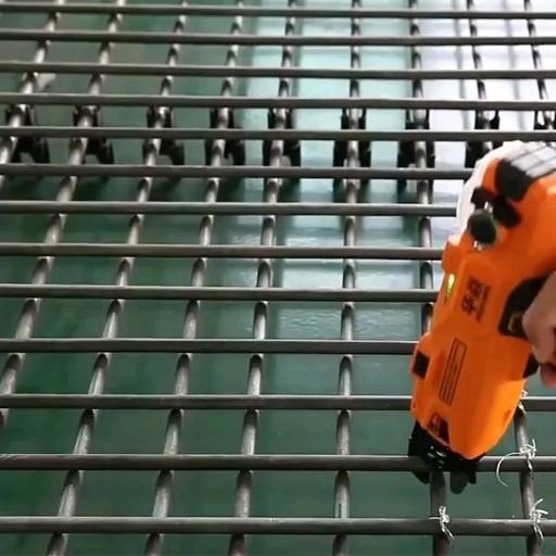 "Photo of Surspider rebar tier- Rebar tying machine operation …"""