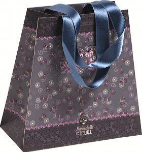 Mademoiselle de Luxe, Papiertasche klein 14x7,5 15cm
