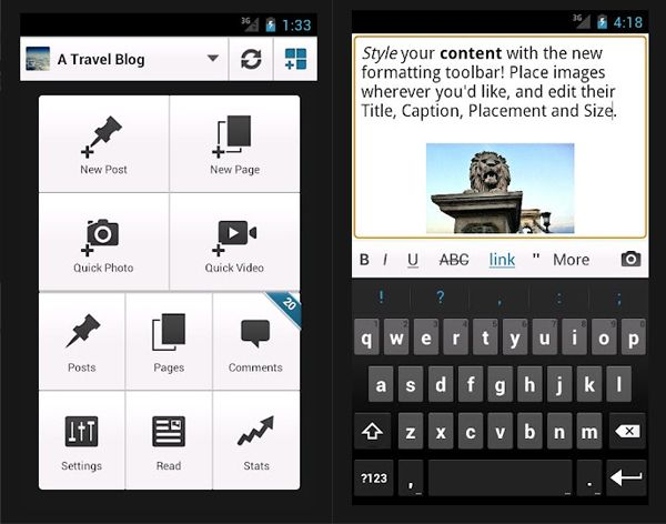 Manage Your WordPress Blog with this Free Android_App