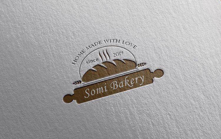 تصميم شعار مخبوزات Cake Factory Somi Enamel Pins