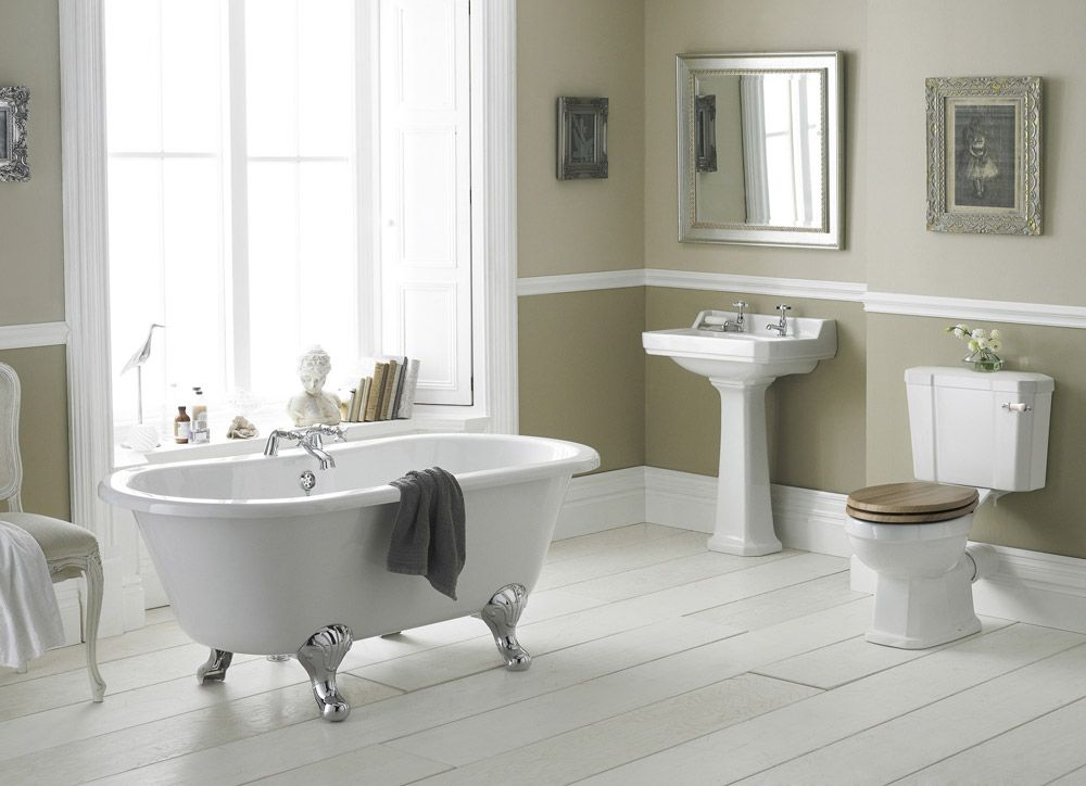 old london richmond close coupled bathroom suite with