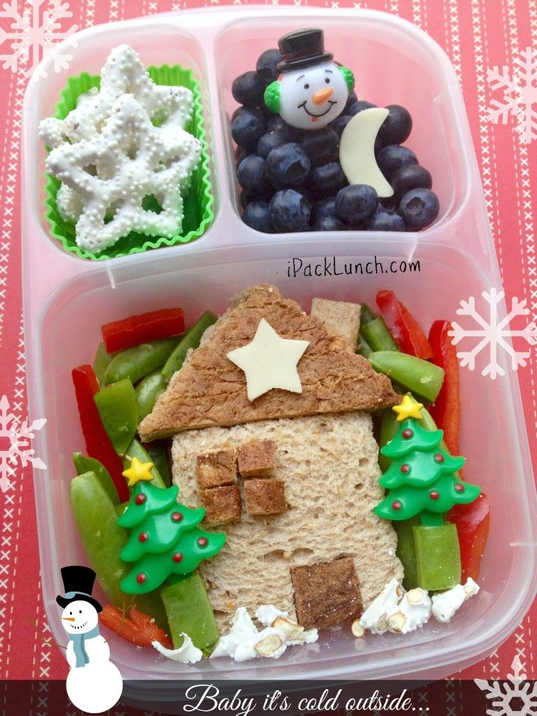 Holiday #lunchbox ideas - packed with @EasyLunchboxes