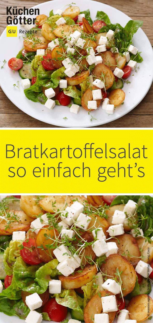 Bratkartoffelsalat #easydinnerrecipes