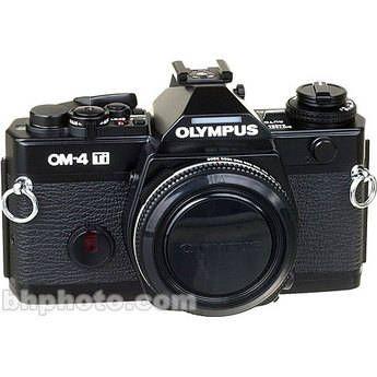 Olympus OM-4Ti (Titanium) 35mm SLR Manual Focus Camera Body (Black)