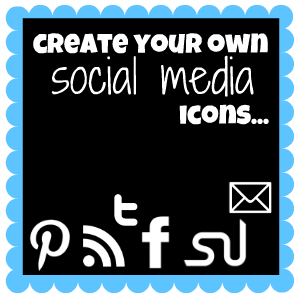 How to create your own social media icons.