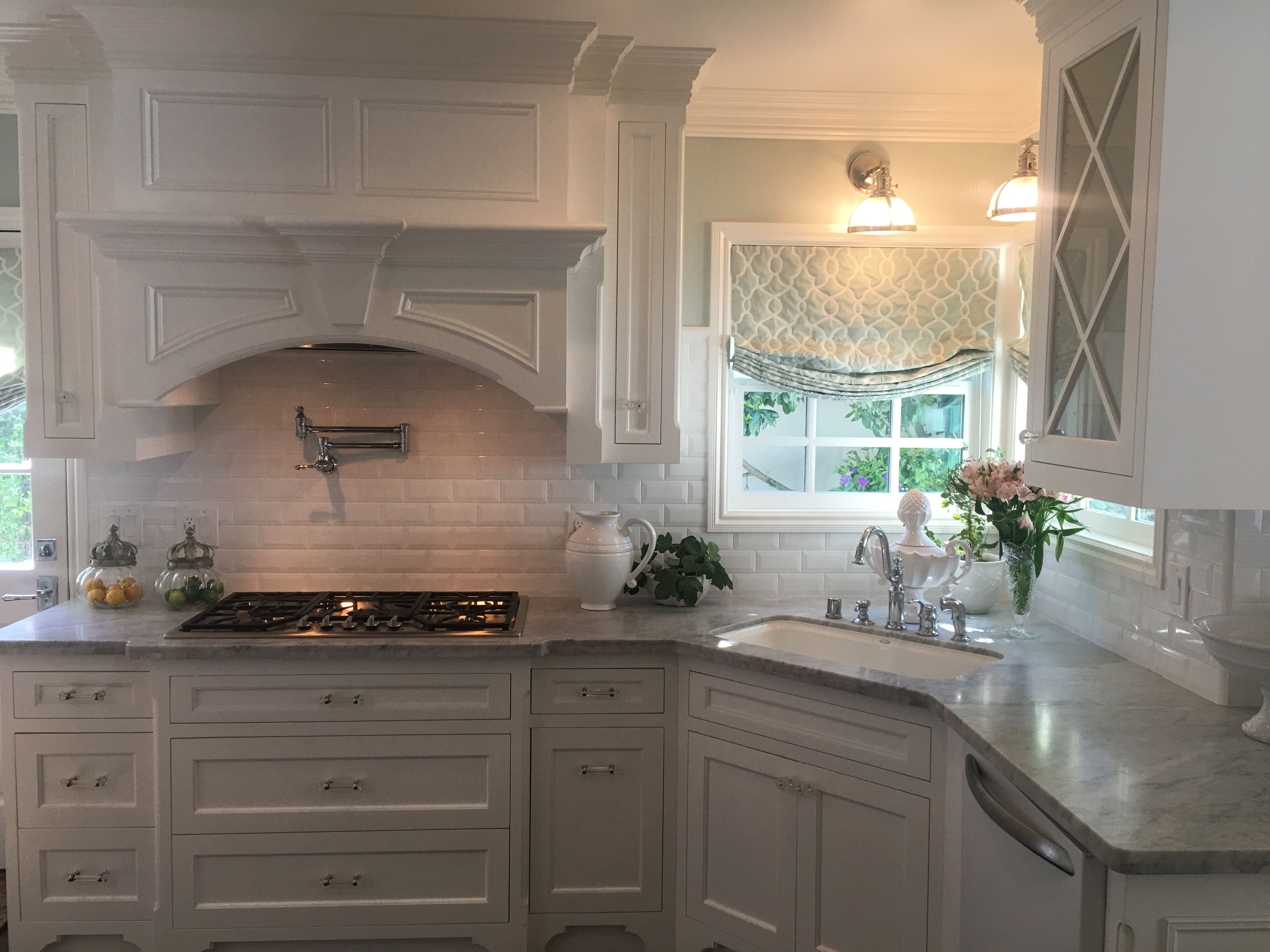 The kitchen I designed.  This is about a third of the space