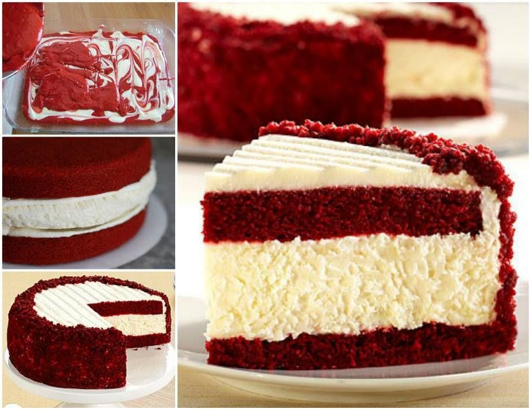 Red Jelly Cake Recipe: Red Velvet Cheesecake Is A Showstopper Video Instructions