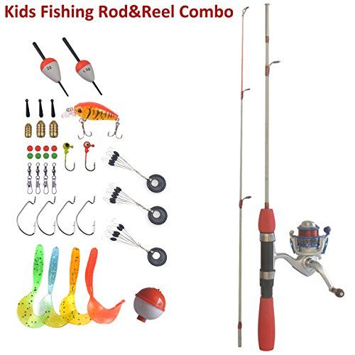 Kids Real Fishing Pole