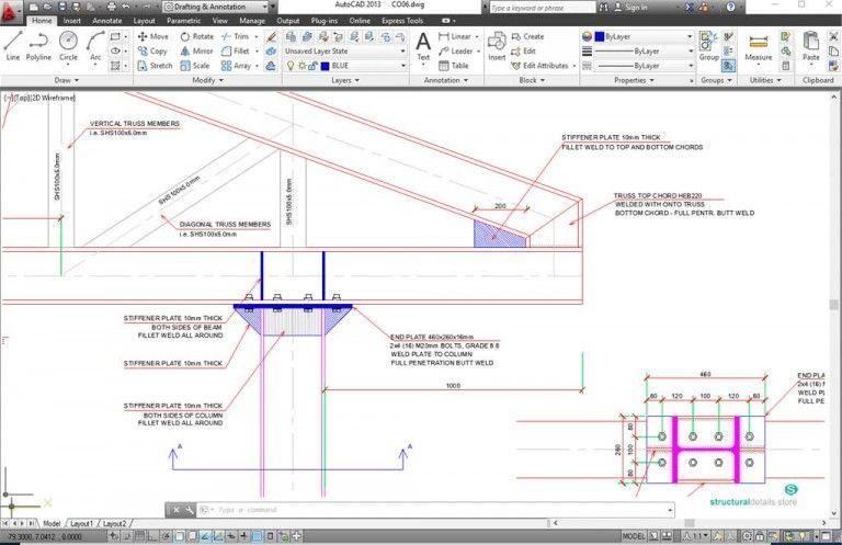 Roof Steel Truss Column Overhang Connection Detail In 2020 Steel Trusses Steel Roofing Roof Truss Design