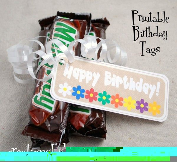 Creations by Kara: Young Women's Birthday Tags {Free Printables}