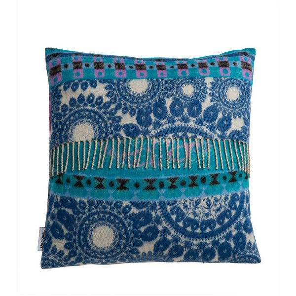Cuscini Divano Desigual.Desigual Folk Blanket Cushion 40x40cm 28 Liked On Polyvore
