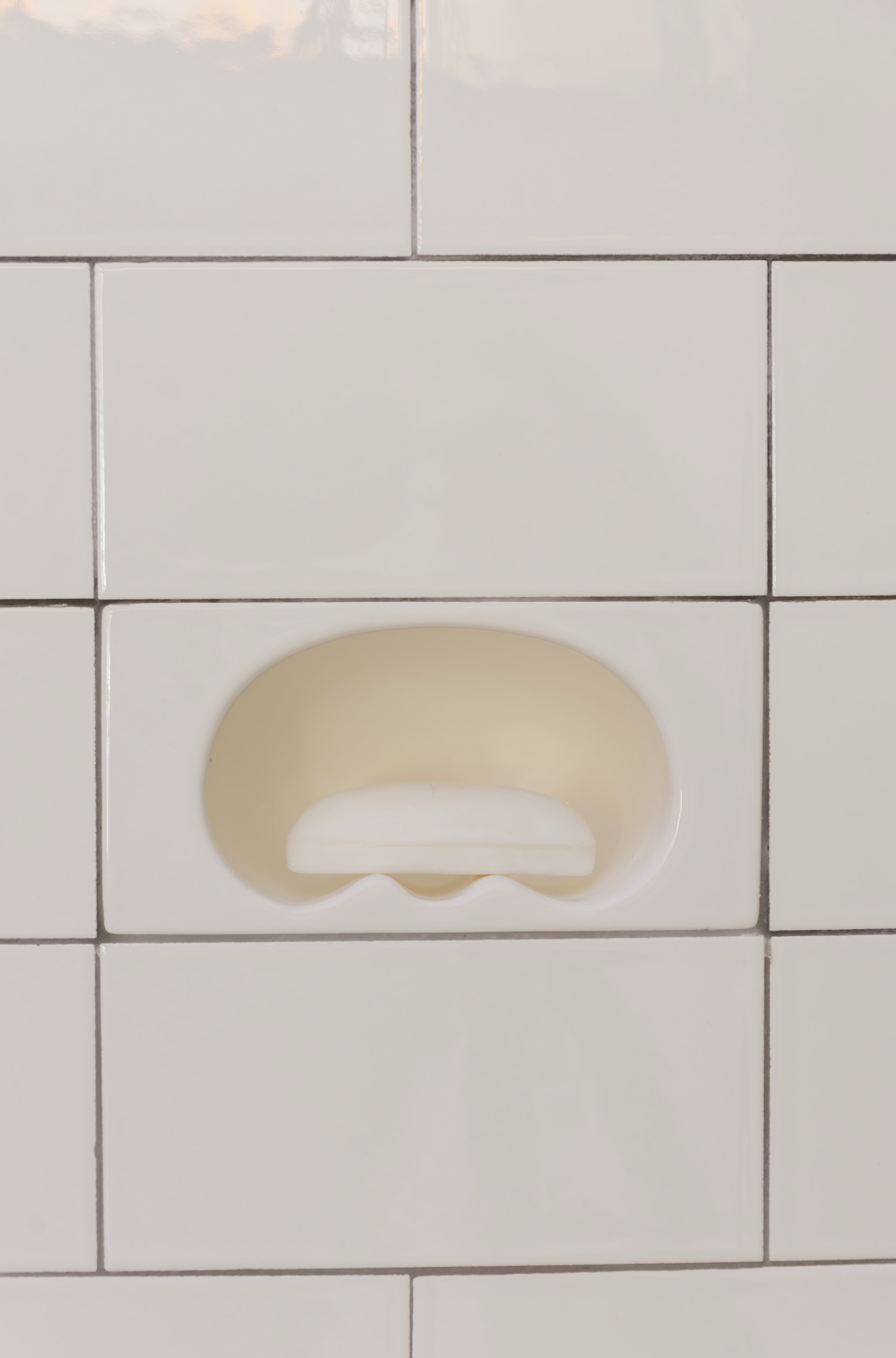 Intergrated Ceramic Fixtures 3 X 6 Recessed Soap Dish Tile