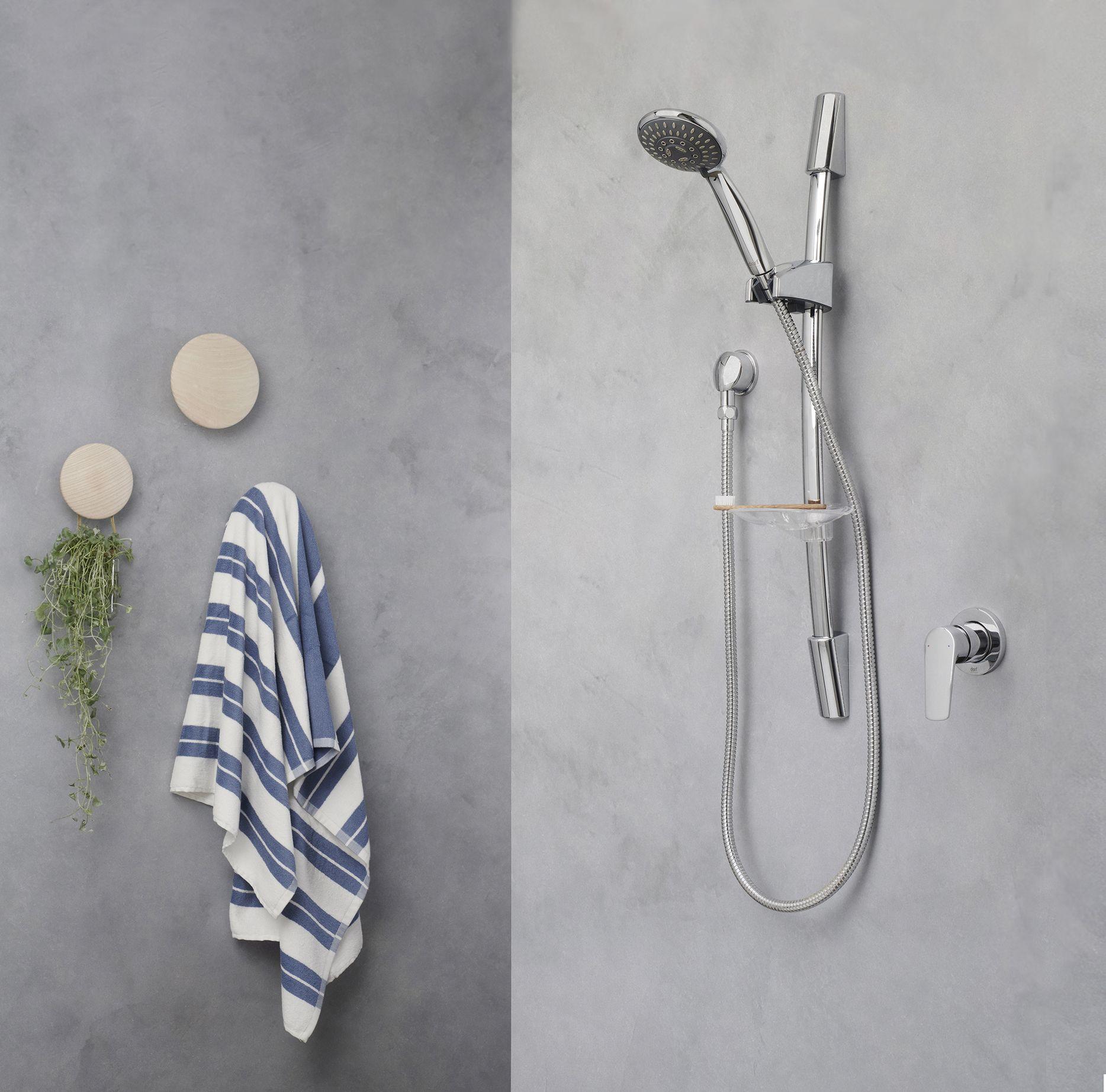 Dorf Tempus Rail Shower #dorf #dorfstyle #tap #bathroom #design ...