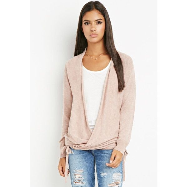 Love 21 Women's Contemporary Open-Front Longline Cardigan (190 ZAR) ❤ liked  on