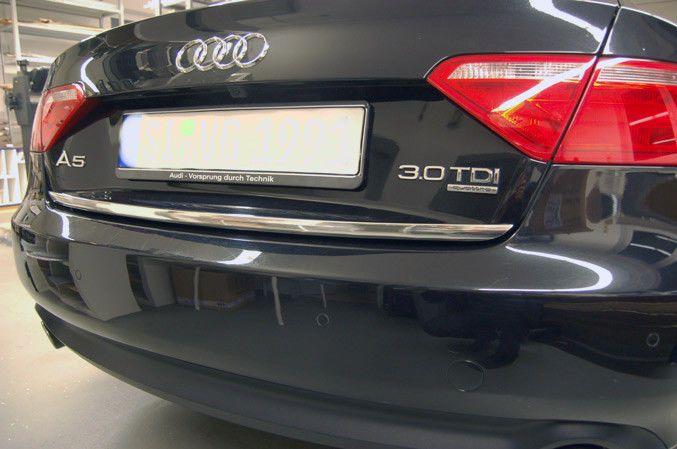 Audi A5 Sportback F5a 8ta Chrom Zierleiste Heckleiste Heckklappe Tuning A5 Sportback Audi A5 Audi A5 Sportback