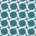 GeoCentric Organic Canvas - Circles Turquoise - Cloud 9 Fabrics