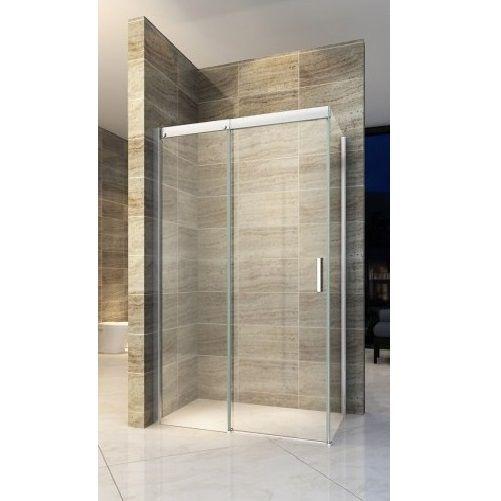 Box doccia anta fissa porta scorrevole H195 chiusura