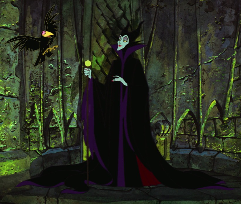 Maleficent and Diablo | Disney | Maleficent, Disney sleeping beauty