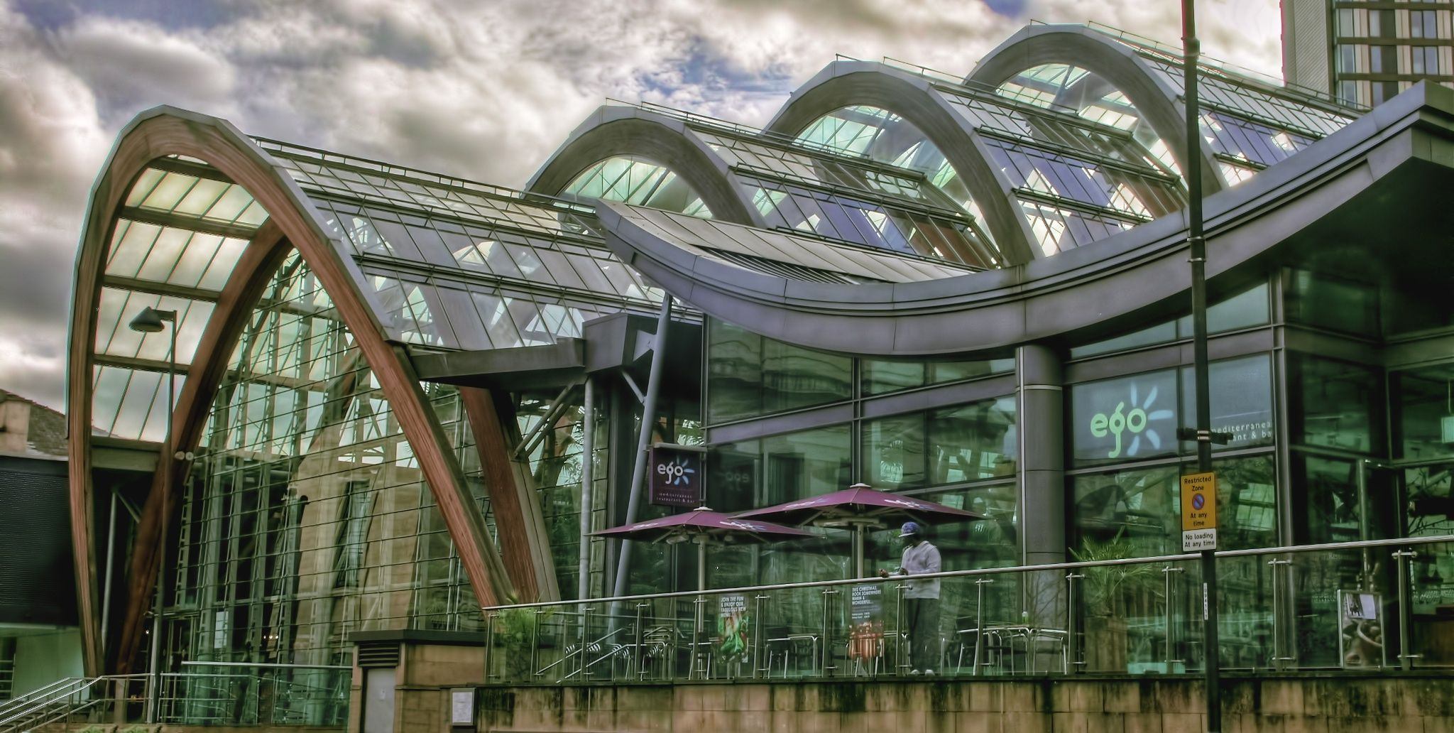 the winter gardens sheffield hdr my 500px photos