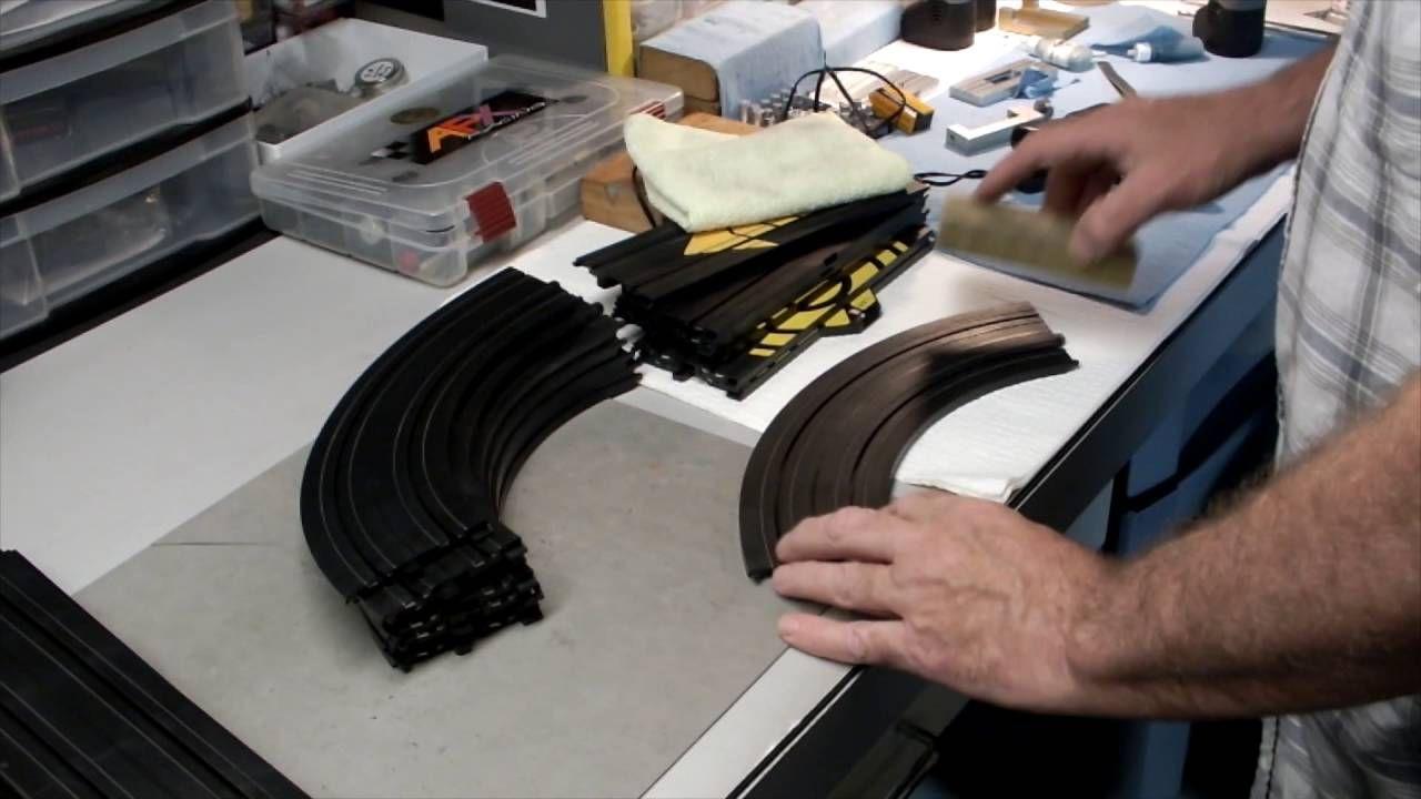 cleaning the rails on your ho slot car track slot cars. Black Bedroom Furniture Sets. Home Design Ideas