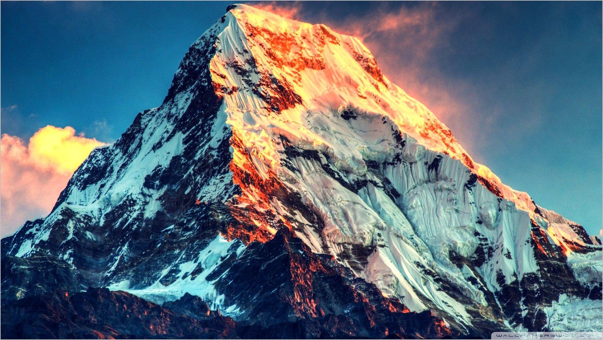 Mount Everest 4k Wallpaper Monte Everest Mensagens Lindas De Amizade Fotos