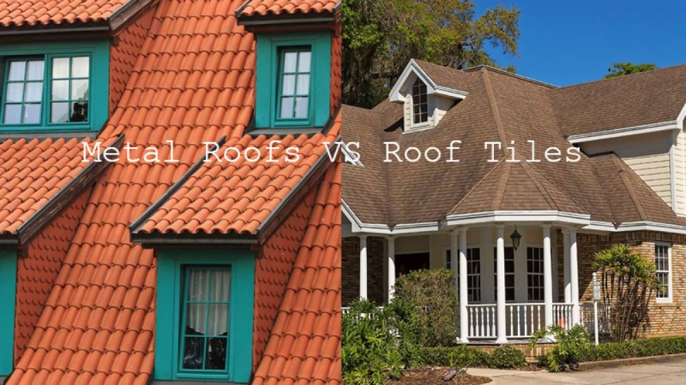 Before Making A Decision Which Is Why You Can Find A Metal Roofs Vs Roof Tiles Chart Below To Have It Made Out Simple Fo In 2020 Metal Roof Roof Tiles