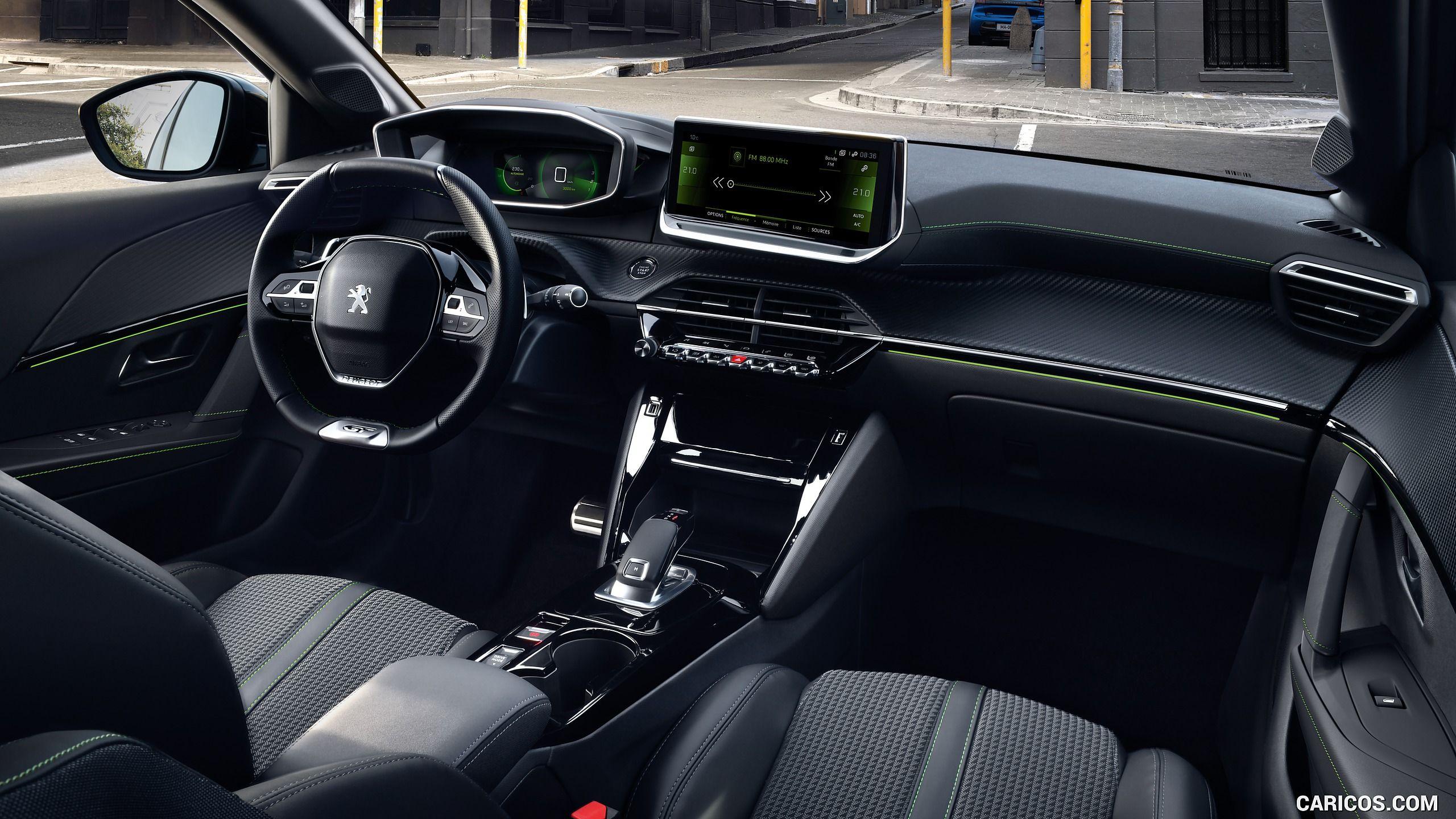 2020 Peugeot E 208 Ev Interior Cockpit Hd Peugeot Volkswagen Passat Vw Passat