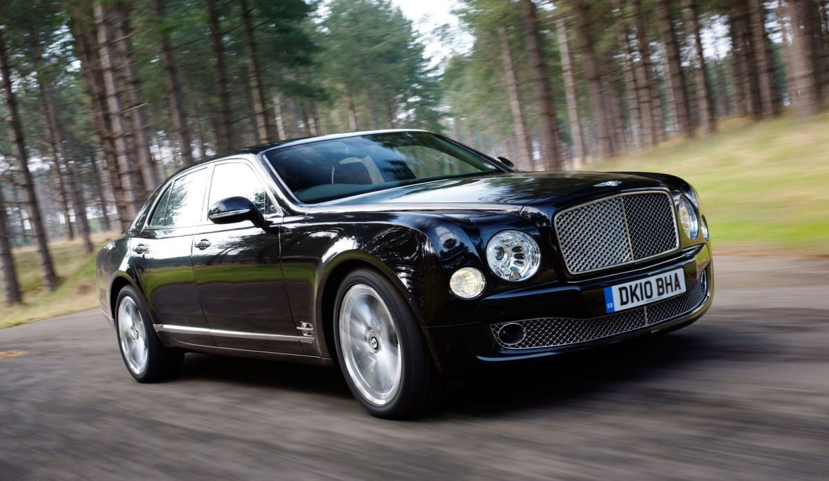 bentley mulsanne black