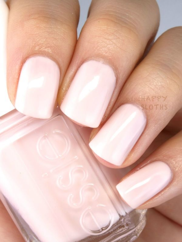 Looking for a classic sheer milky pink nail polish for your wedding ...