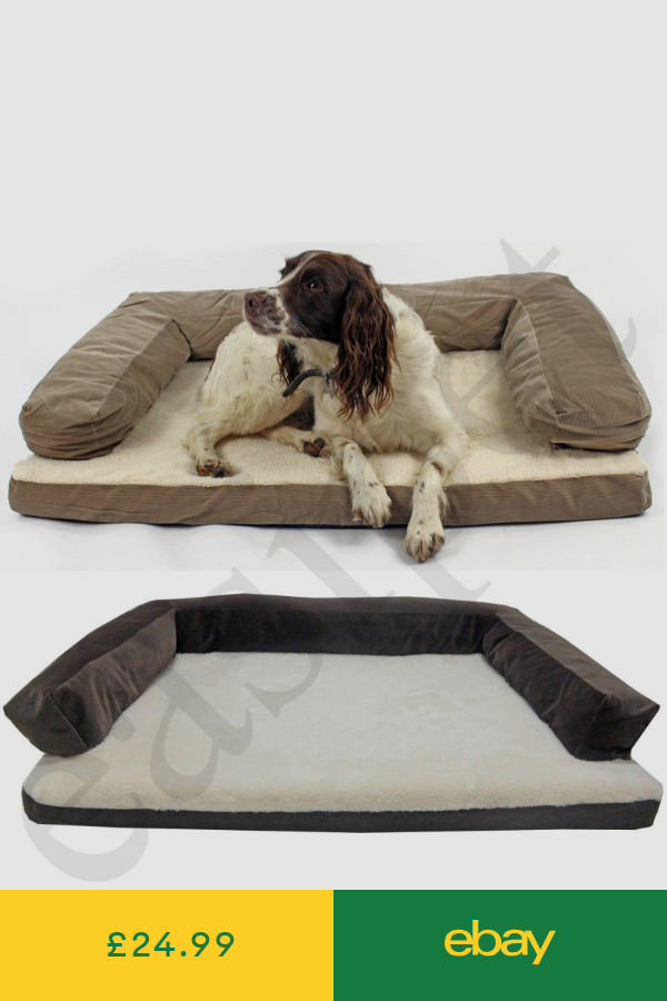 Deluxe Orthopaedic Soft Dog Pet Warm Sofa Bed Cushion