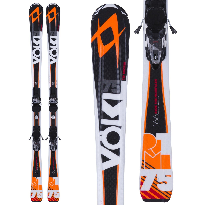 Volkl RTM 75 Skis + 4Motion 10.0 Bindings 2015 Size 153