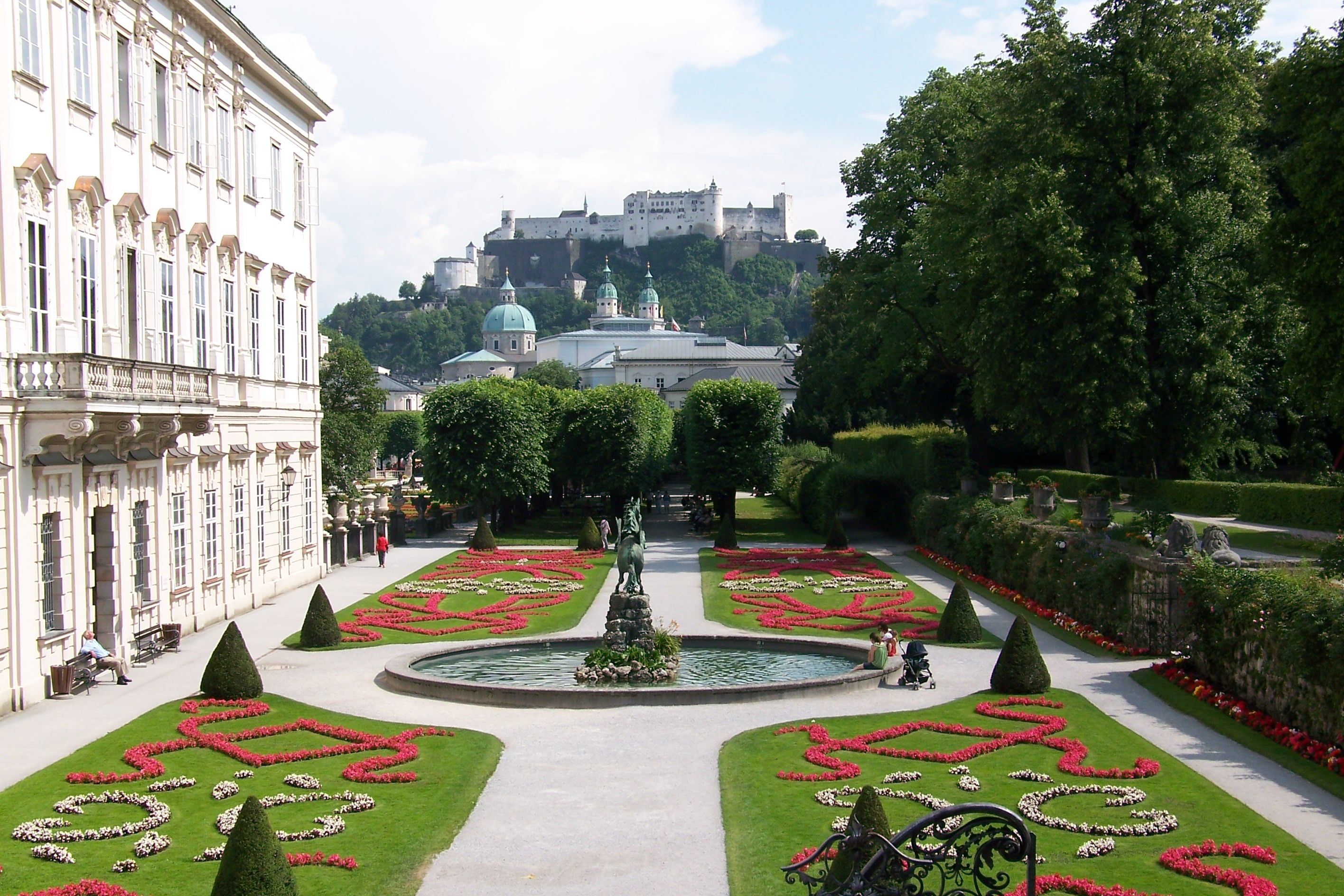 Mirabell Gardens | Places I have Visited | House styles ...