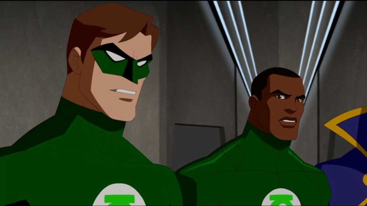 Hal Jordan John Stewart Young Justice S1  Young Justice -7722