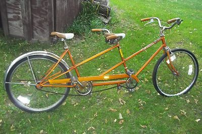 Schwinn Tandem Bicycle Two Seater Bike My Mom Had The Same One
