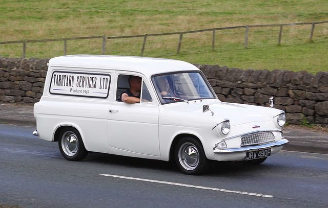 Ford Anglia Van Jrv 490f With Images Ford Anglia Vans