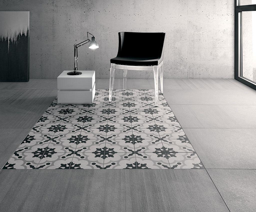 Cementine black&white ceramiche fioranese piastrelle in gres