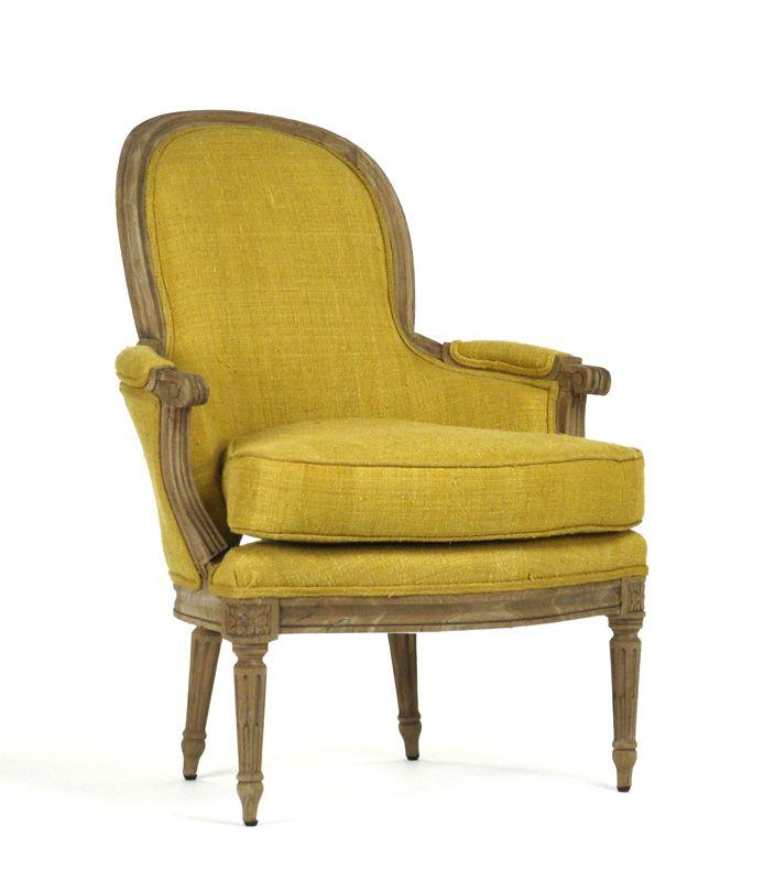 Mello Bright Yellow Club Chair