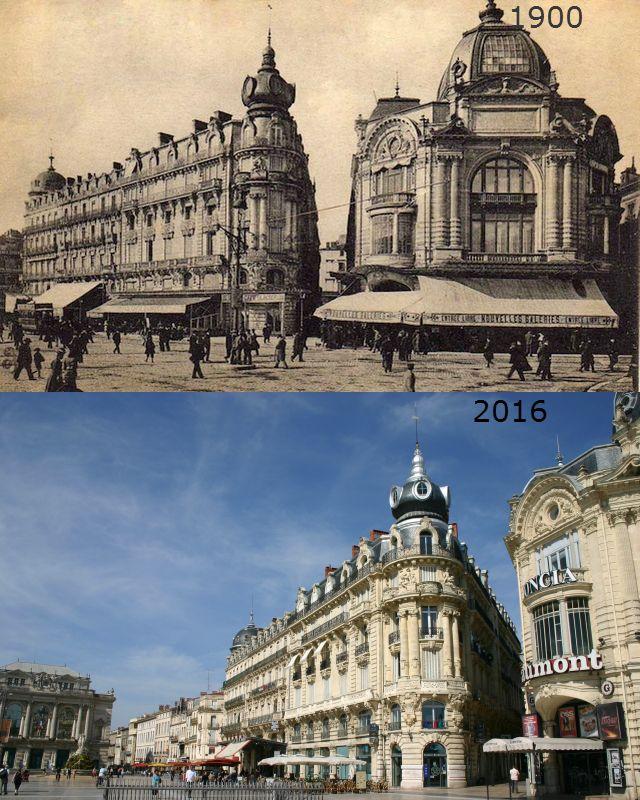 Montpellier de 1900 à 2016 en 2020 Montpellier, Visiter