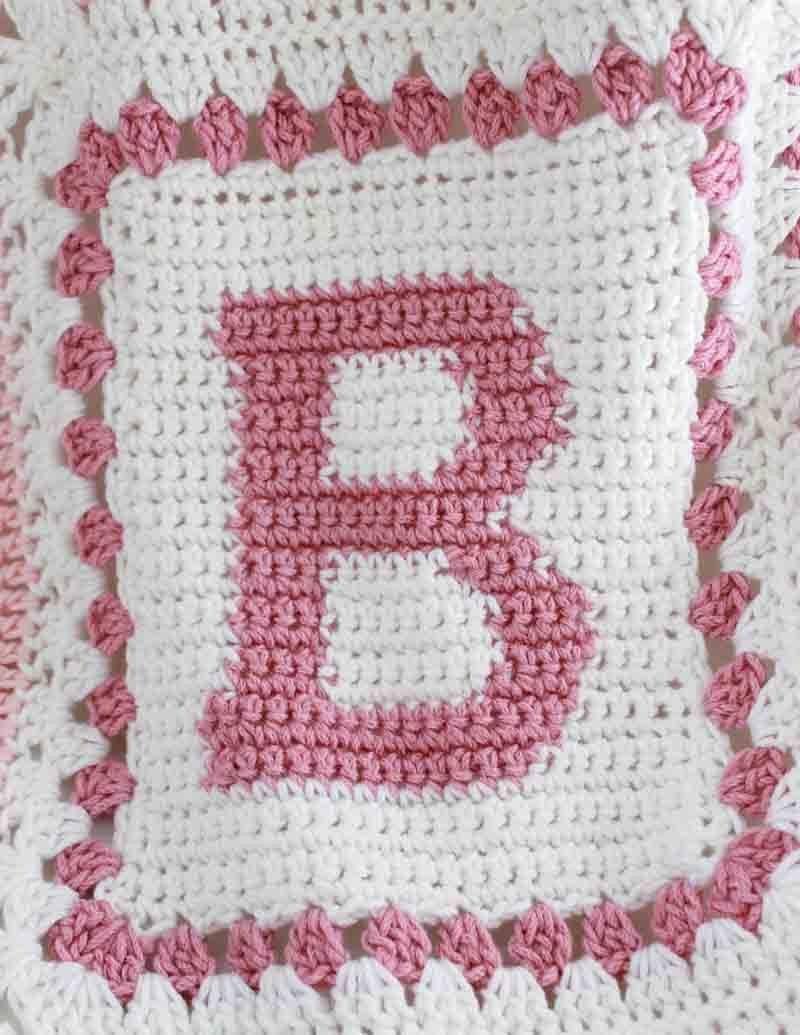 Baby Alphabet Blocks Afghan Crochet Pattern Denver Pinterest
