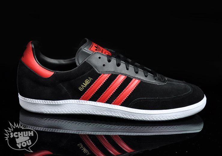 Adidas Samba black and red. A classic revisited  da433c1d7