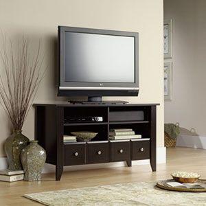 Sauder Shoal Creek Panel Tv Stand Jamocha Boscov 39 S